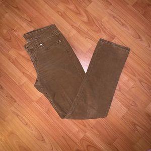 J. Crew Vintage Matchstick Corduroy Pants